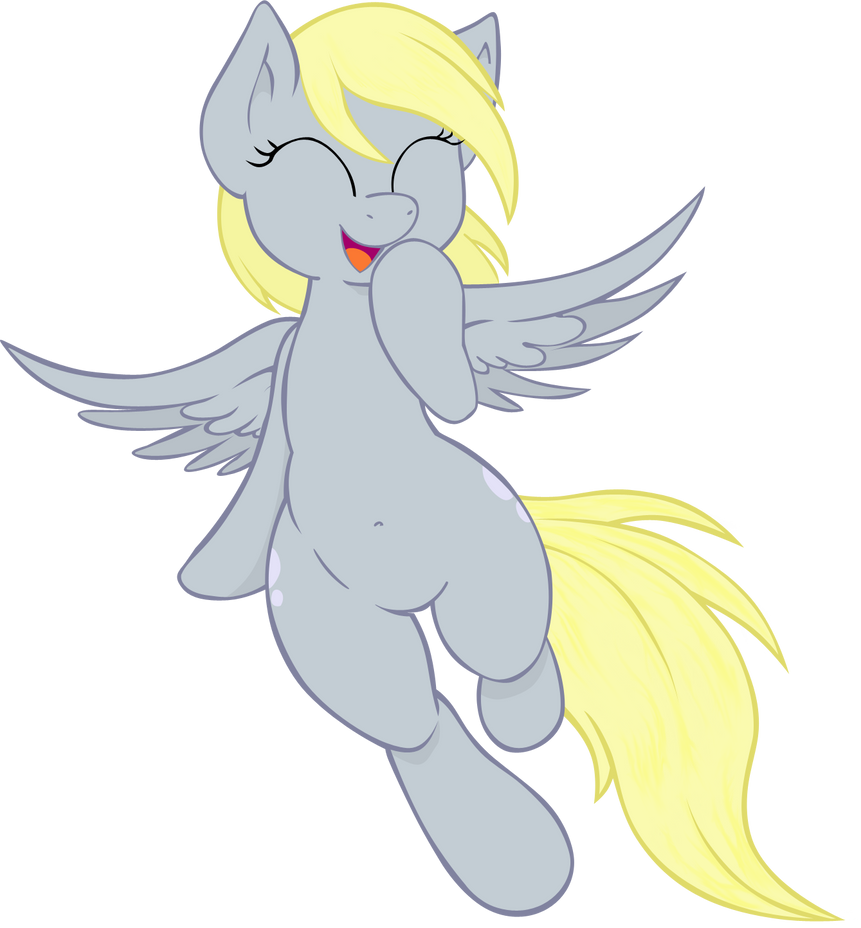 derpy hooves Vector by Bork88