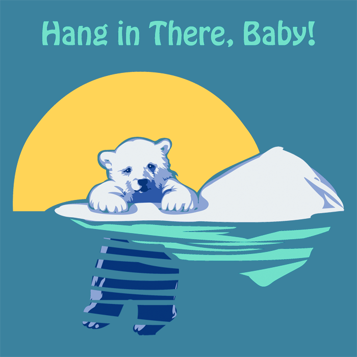 Hang in there baby by mollygrue on deviantart