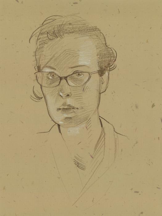 Self Portrait - 26 April 2010 by mollygrue