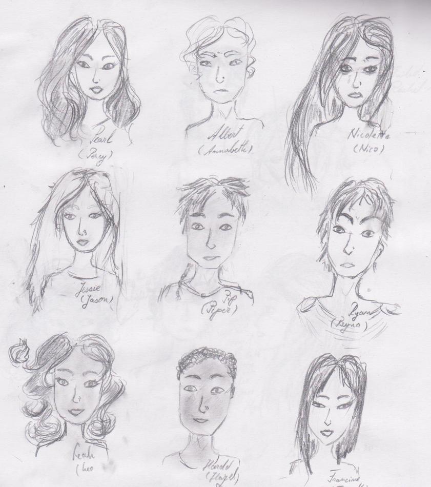 Genderbend Heroes of O...