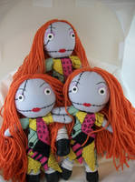 A slew of Sallys by dollmaker88