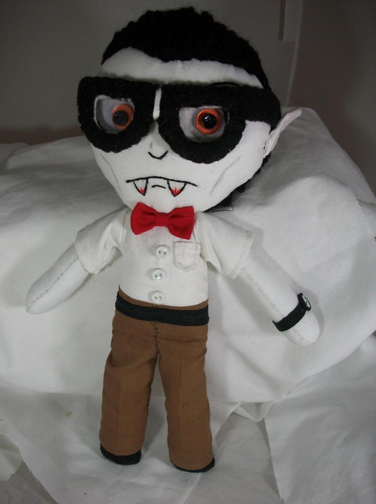 Brian the nerdy vampire by dollmaker88 on deviantART