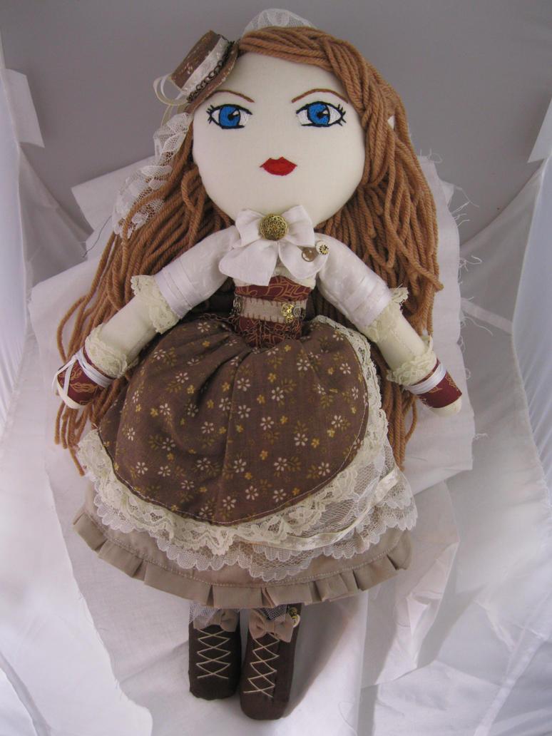 SteamPunk Alice in Wonderland by dollmaker88