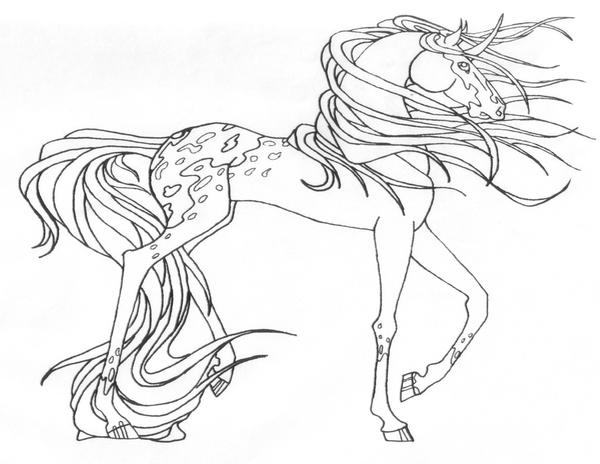 Realistic pegasus coloring pages for adults realistic for Realistic horse coloring pages for adults