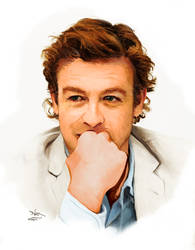 simon baker by strawberrycooky