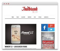JailbreakUI.com - Beautiful iPhone Interface.
