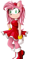 *_Amy Rose_* by Sonica-Chann