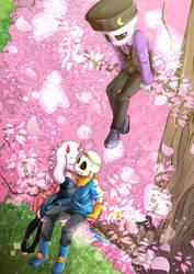.:Sakura Tree:. (+Speedpaint)