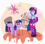 Twilight Sparkle Pony and EG