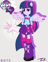 Equestria Girls Twilight Sparkle by Arteses-Canvas