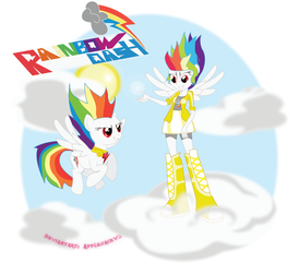 Request: Super Rainbow Dashs (Pony and EqG)