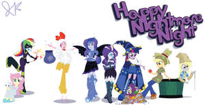 Happy Nightmare Night! by Arteses-Canvas