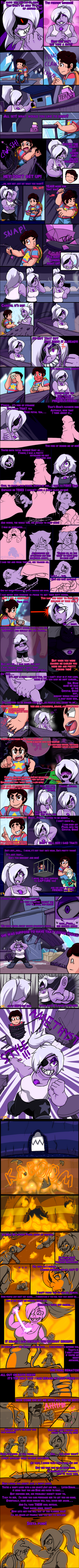 Steven's Tale-Waterfall P12 by Arteses-Canvas