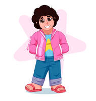 Steven has a neck now by Arteses-Canvas