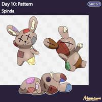 Inktober Day 10: Pattern