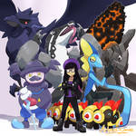 My Pokemon Shied team(and thoughts about SWSH)