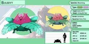 Steven's Poke-universe: Bulbivy