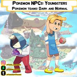 Steven Pokeverse NPCs: Youngsters
