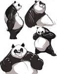 panda sketches