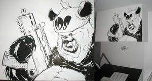PaNda Mural done ... for now