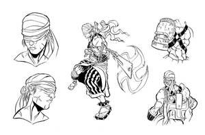 Character concept numba 8 by cereal199