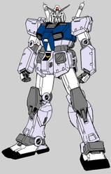 Mock Battle Gundam lineart