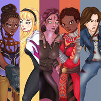 Marvel Girls by nixlamour