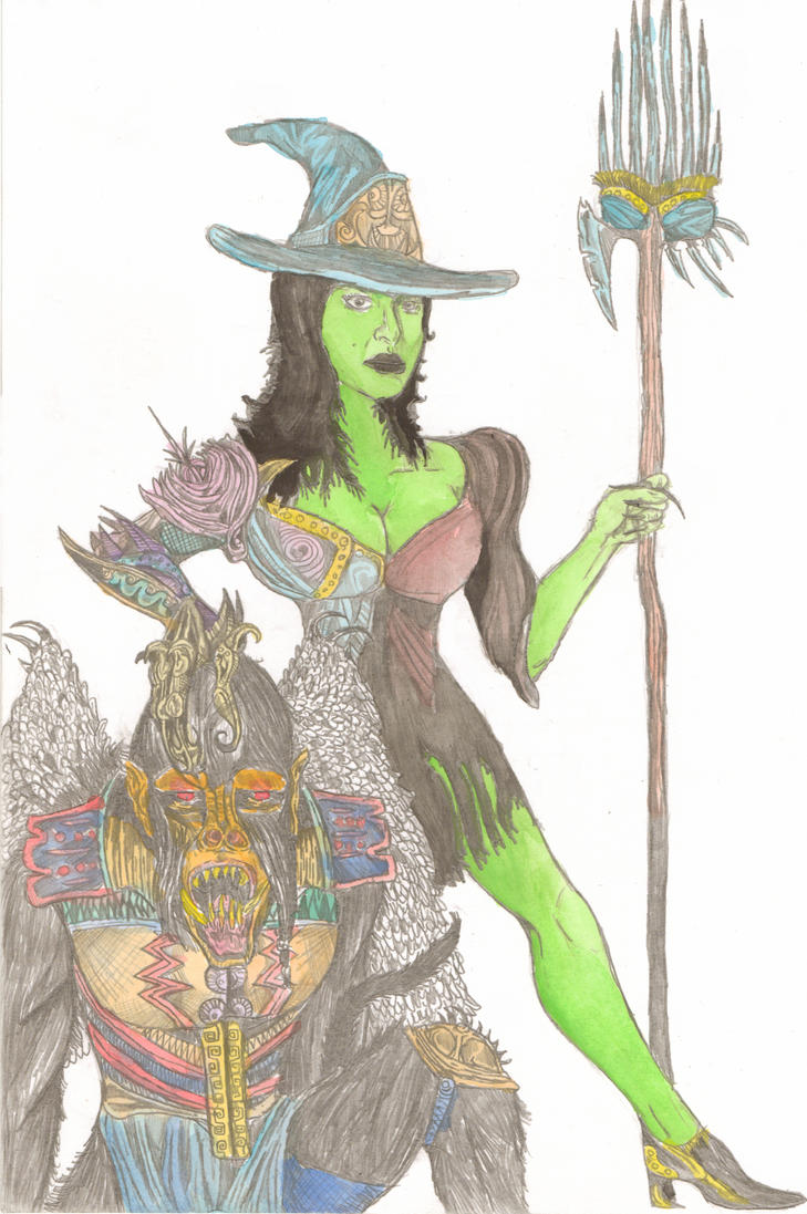 The Wicked Witch by Shukibaby