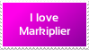 I Love Markiplier Stamp by PolandPeace
