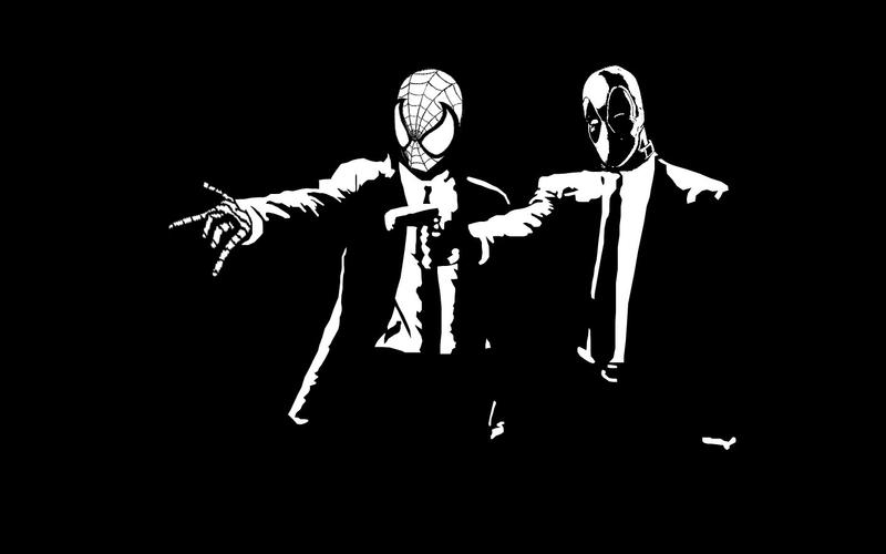 Spider Man And Deadpool Pulp Fiction By Spiderfan05
