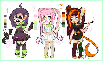 Circus freaks Adopts [OPEN]
