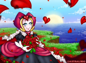 Contest- Queen of Hearts by astralis00