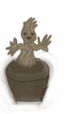 Guardian s of the Galaxy Groot Avatar by ArtMaker333