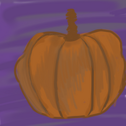 15 minute pumpkin sketch by ArtMaker333