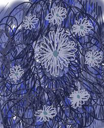 Scribble flower by ArtMaker333