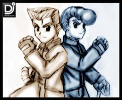 Kunio and Riki