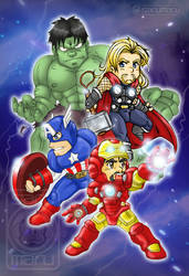 The Chibivengers!!