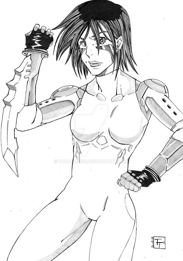 Battle Angel Alita by tamtam013