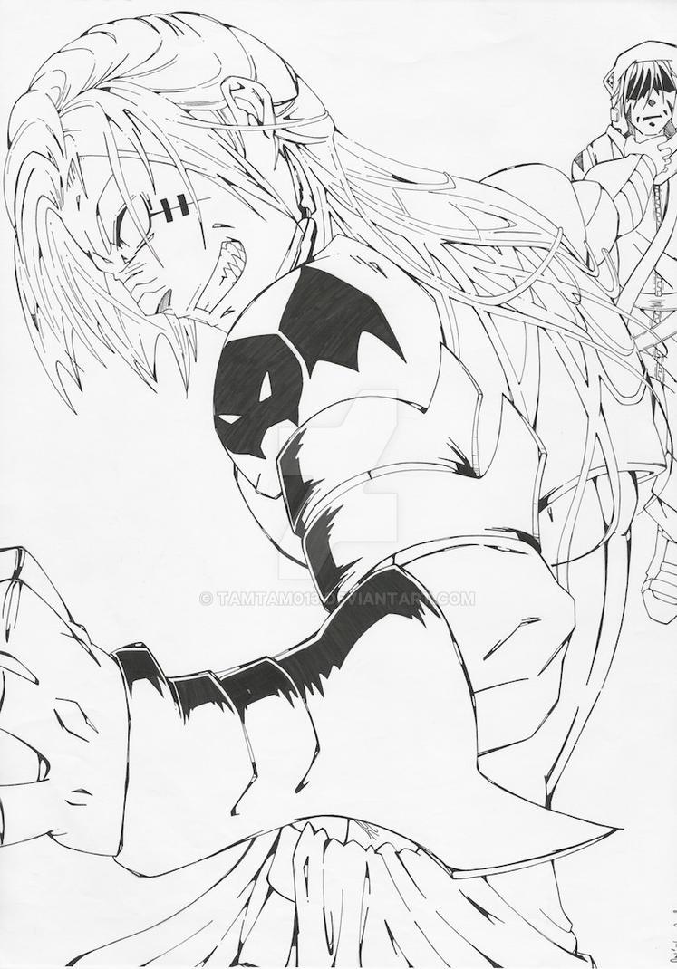 fighting satan by tamtam013