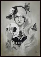 Deborah Blachier - Tribal Fusion Portrait by Scendre-Lab