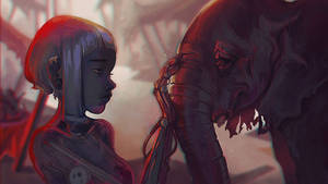 The Robot and the Elephant by Scendre-Lab