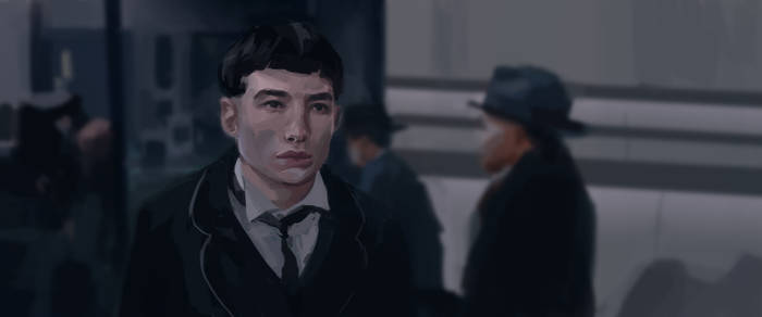 Credence - Study from Fantastic Beasts by Scendre-Lab