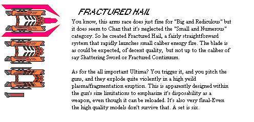 Fractured Hail