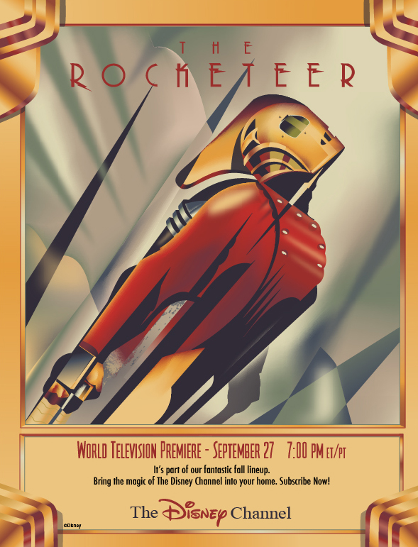 The Rocketeer by LoganM1988