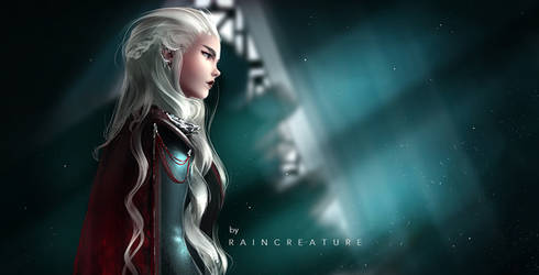 Daenerys Targaryen by raincreat