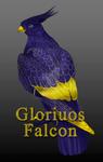 #017 Glorious falcon [CLOSED] by LisaLeva