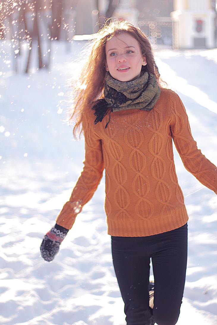 Snow by RamonaAnomar