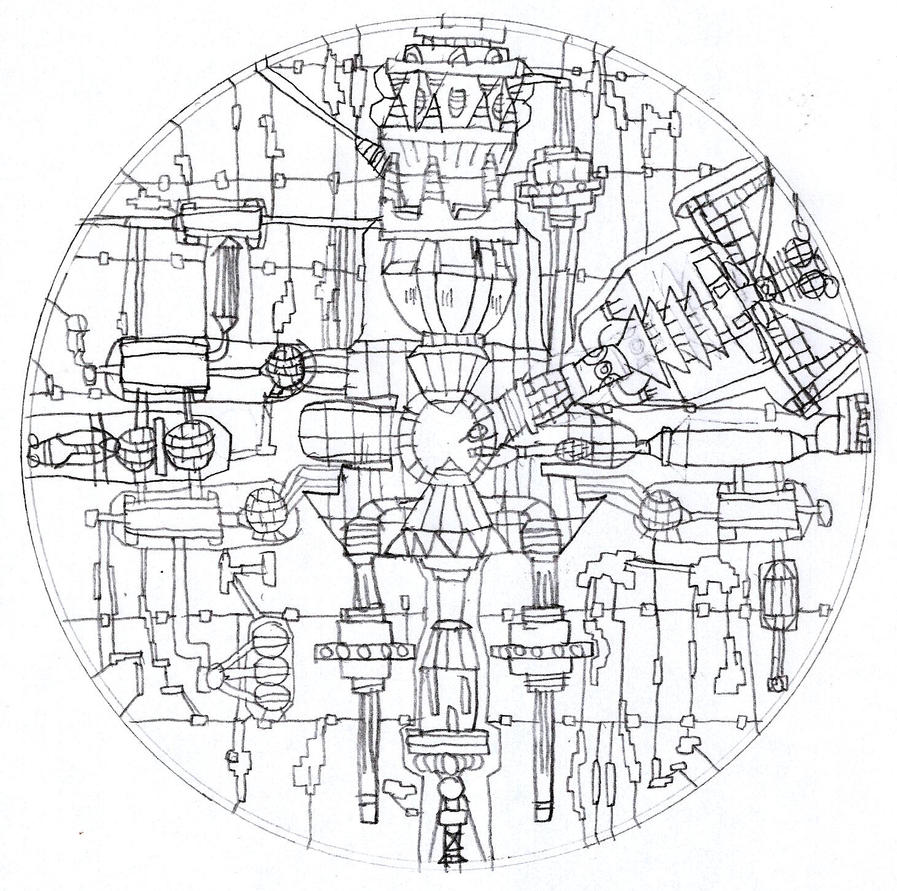 Death Star Blueprints By LunaSurge On DeviantArt - Death star blueprints