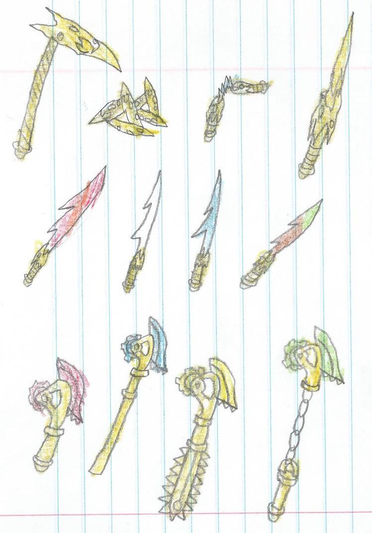 ninjago weapons coloring pages - photo#39