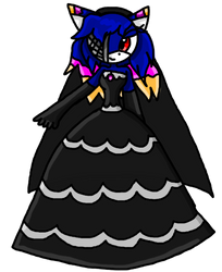 :AT: Sundown Gothic Wedding Dress